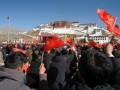 西藏迎来民主改革60周年庆典 (3)