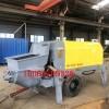 新型二次构造柱混凝土细石泵 斜式混凝土输送泵视频