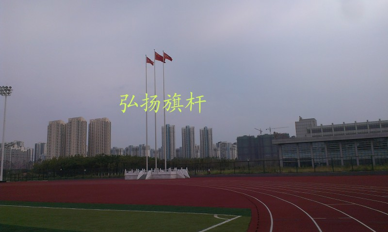 安徽JAC大学28.8米锥形旗杆