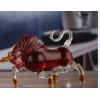 大牛造型玻璃酒瓶西藏牛造型工艺酒瓶创意牦牛工艺酒瓶玻璃瓶子